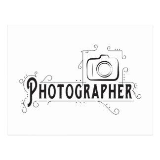 カメラマン ポストカード