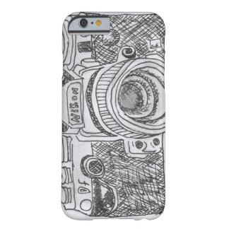 カメララインスケッチ BARELY THERE iPhone 6 ケース