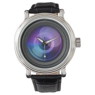 カメラレンズの腕時計 腕時計