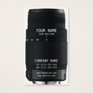 カメラレンズ 名刺