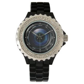 カメラレンズ 腕時計