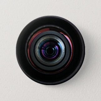 カメラレンズ 5.7CM 丸型バッジ