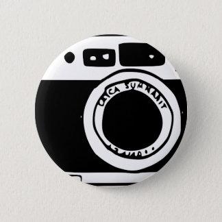 カメラ 5.7CM 丸型バッジ
