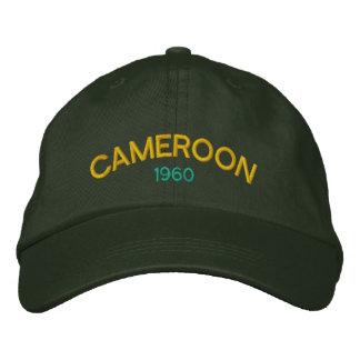 カメルーンのカスタムな野球帽 刺繍入りキャップ