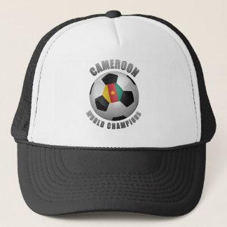 カメルーンのサッカーのチャンピオン キャップ