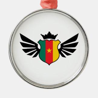 カメルーンのサッカー メタルオーナメント