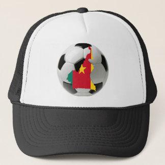 カメルーンのフットボールのサッカー キャップ