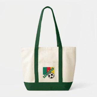 カメルーンの世界のサッカーファンのTシャツ トートバッグ