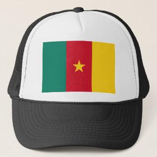 カメルーンの国民の世界の旗 キャップ