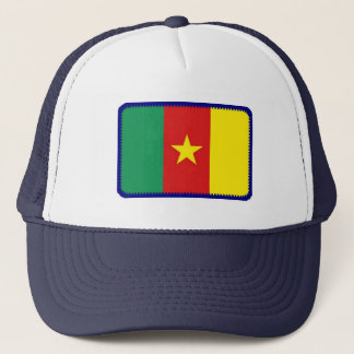カメルーンの旗によって刺繍される効果の帽子 キャップ