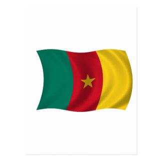 カメルーンの旗 ポストカード