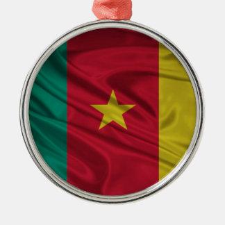 カメルーンの旗 メタルオーナメント
