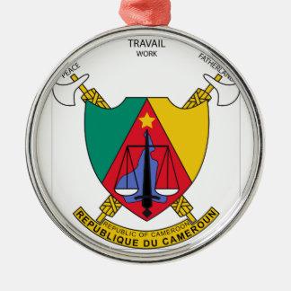 カメルーンの紋章付き外衣 メタルオーナメント
