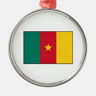 カメルーン-カメルーン人の旗 メタルオーナメント