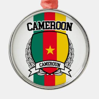 カメルーン メタルオーナメント