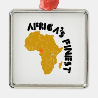 カメルーン、最も素晴らしいアフリカ メタルオーナメント