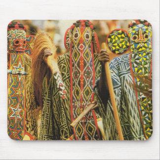 カメルーン、Banjougeの種族のダンサー マウスパッド