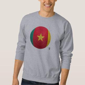 カメルーン- LesのライオンのIndomablesのフットボール スウェットシャツ