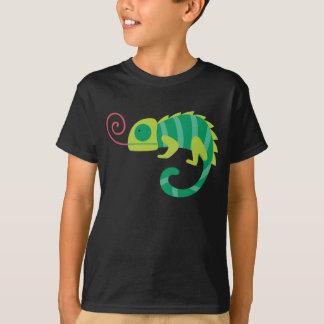 カメレオンのおもしろいのTシャツ Tシャツ