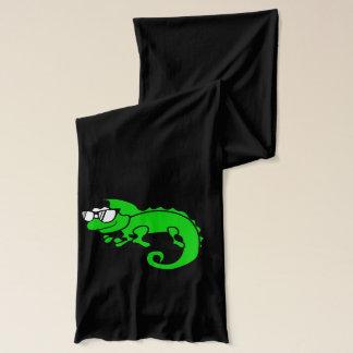 カメレオンのヒップスターのカッコいい動物の設計 スカーフ