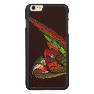 カメレオンの抽象美術 CarvedメープルiPhone 6 PLUS スリムケース