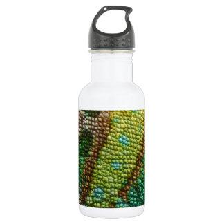 カメレオンの模造のな皮の質 ウォーターボトル