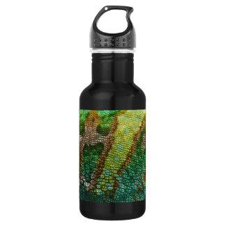 カメレオンの皮の質のテンプレート ウォーターボトル