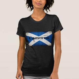カメロンのグランジな旗 Tシャツ