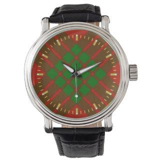 カメロンのタータンチェックの腕時計 腕時計