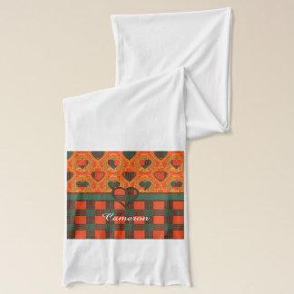 カメロンの一族の格子縞のスコットランド人のタータンチェック スカーフ