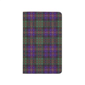 カメロンの一族の格子縞のスコットランド人のタータンチェック ポケットジャーナル