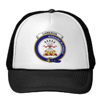 カメロンの一族は記章を付けます メッシュ帽子