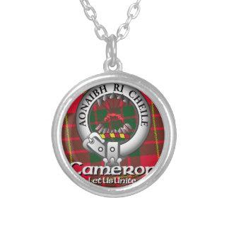 カメロンの一族 シルバープレートネックレス