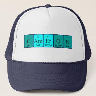 カメロンの周期表の名前の帽子 キャップ