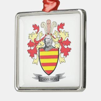 カメロンの家紋の紋章付き外衣 メタルオーナメント