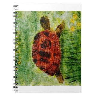 カメ動物の芸術 ノートブック