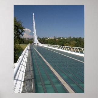 カメ湾の日時計橋 ポスター