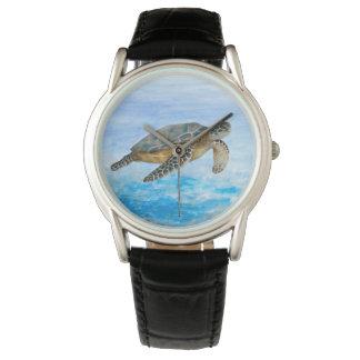 カメ1の海の海 腕時計
