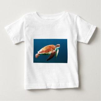 カメ ベビーTシャツ
