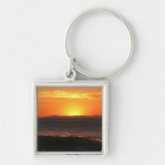 カモシカの島の日没 キーホルダー