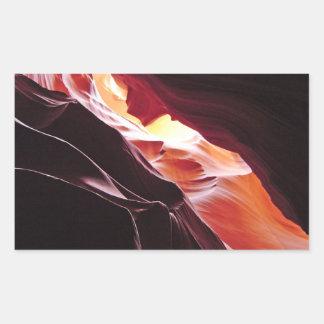 カモシカ渓谷、ページアリゾナ 長方形シール