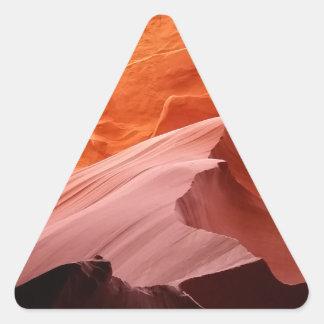 カモシカ渓谷 三角形シール