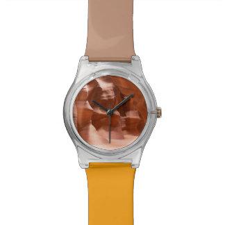 カモシカ渓谷、自然にLit 腕時計