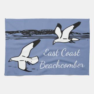 カモメのビーチの東海岸のBeachcomberの台所タオル キッチンタオル