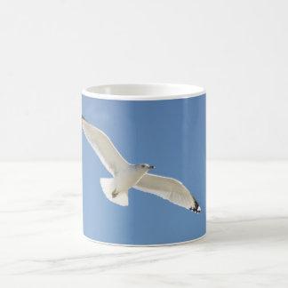 カモメの写真撮影 コーヒーマグカップ