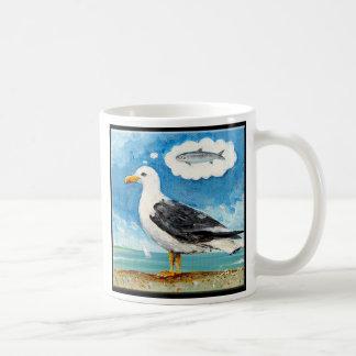 カモメの夢の昼食gull_hero_blk_cafe3018 コーヒーマグカップ