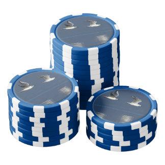 カモメ飛行 ポーカーチップ