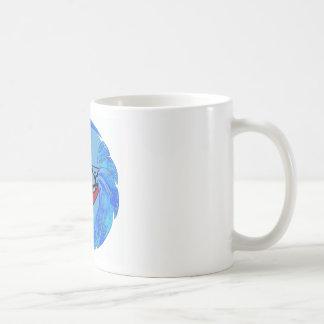 カヤックのにせ物のきらめく コーヒーマグカップ