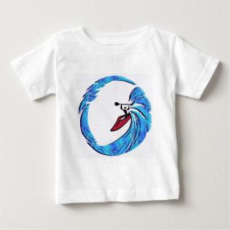 カヤックのオアフ夢 ベビーTシャツ