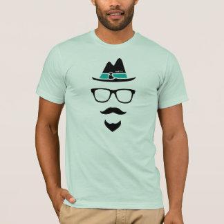 カヤックのヒップスターのロゴのワイシャツ-オーガニックなワイシャツ Tシャツ